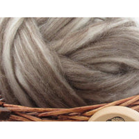 Mixed Corriedale Wool Top - 1oz