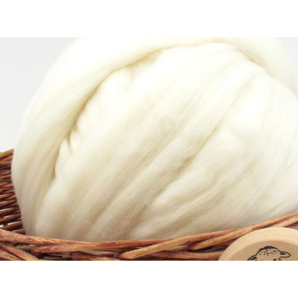 Merino Superwash Wool Top 23 Micron - 1oz