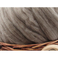 Oatmeal Bluefaced Leicester Wool Top - 1oz