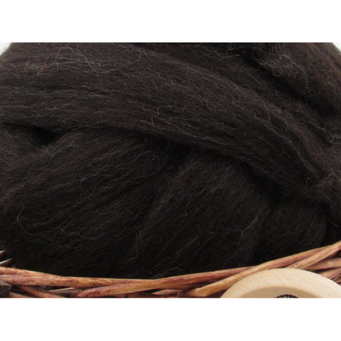 Zwartbles Wool Top Roving - Undyed Spinning Fiber / 1oz