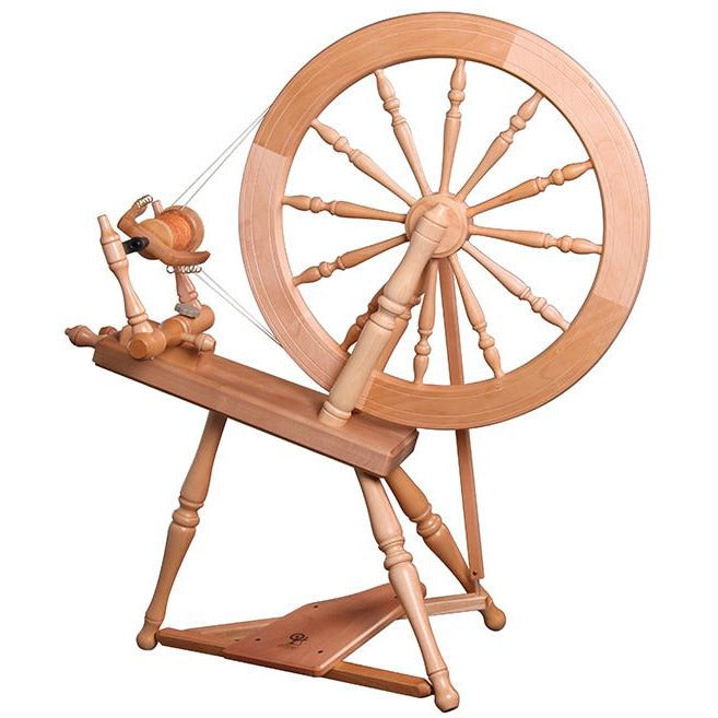 Ashford Elizabeth-2 Spinning Wheel - Double Drive / Unfinished