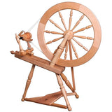 Ashford Elizabeth-2 Spinning Wheel - Double Drive / Unfinished - FREE Shipping