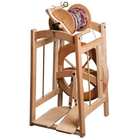 Ashford Country Spinner 2 Spinning Wheel - Clear Finish