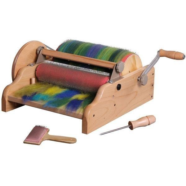 "Ashford 12"" Wide Drum Carder - 72 point - FREE Shipping"