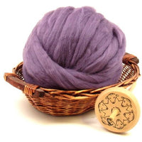 Dyed Corriedale Top / 1oz - Heather