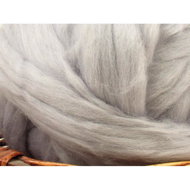 Dyed Corriedale Natural Spinning Fiber / 1oz - Seal