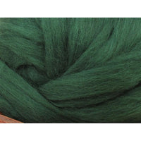 Dyed Corriedale Top / 1oz - Conifer