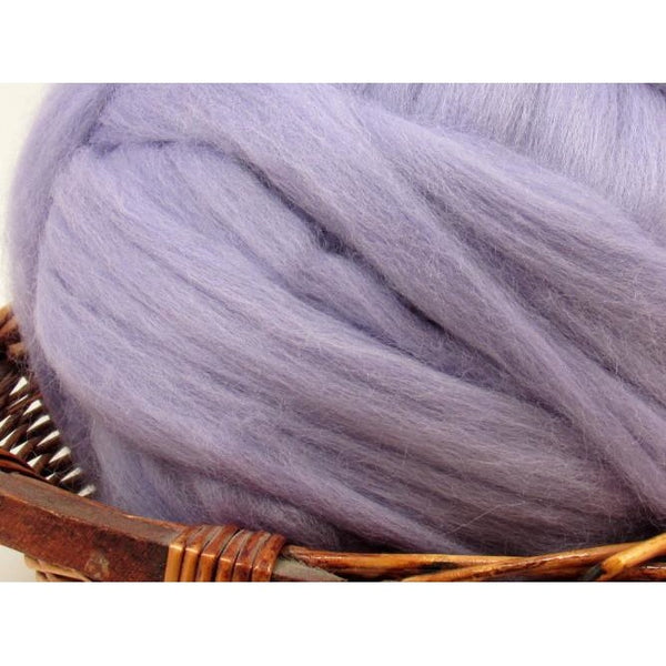 Dyed Corriedale Top / 1oz - Hyacinth