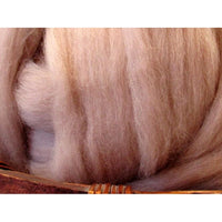 Dyed Corriedale Top / 1oz - Mink