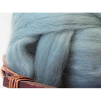 Dyed Corriedale Top / 1oz - Teal