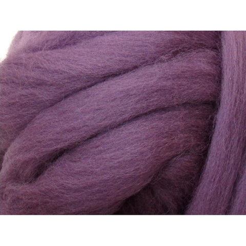 Dyed Shetland Natural Spinning Fiber / 1oz - Heather