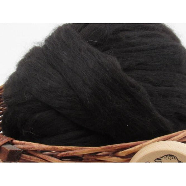 Black Baby Alpaca Top / 1oz