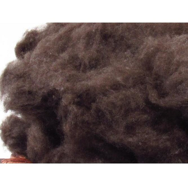 Dark Brown Yak Down - Undyed Natural  / 1oz