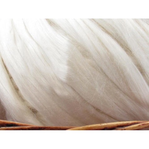 Banana Fiber Top - Undyed Natural Spinning Fiber/ Roving - 1oz