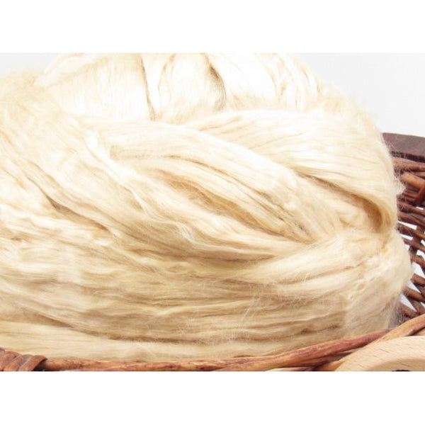 Undyed Soybean Roving -  / 1oz