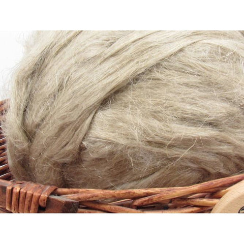 Natural Flax Roving - Spinning Fiber / 1oz