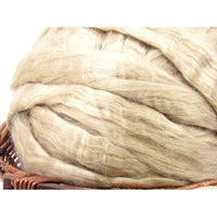 Natural Tussah Silk - Undyed  / 1oz