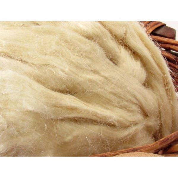 Hemp Top Roving - Undyed  / 1oz