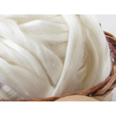 Ramie Top Roving - Undyed Spinning Fiber / 1oz