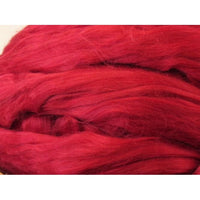 Bamboo Top - Red Spinning Fiber / 1oz