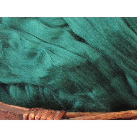 Bamboo Top - Green Spinning Fiber / 1oz