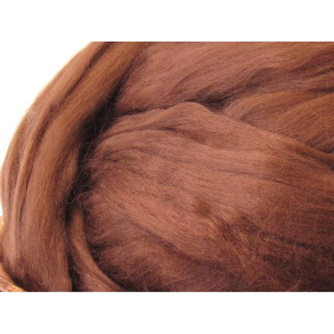 Bamboo Top - Brown Spinning Fiber / 1oz