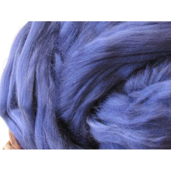 Bamboo Top - Blue Spinning Fiber / 1oz