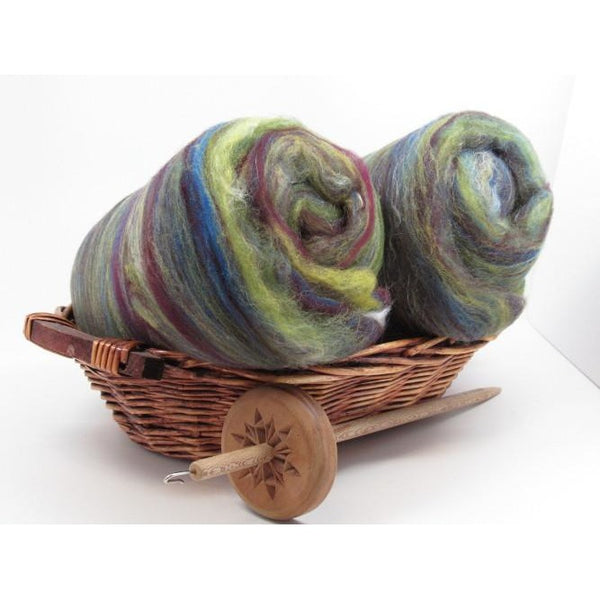 Irish Sea Spinning Batt Australian Merino and Tussah Silk Spinning Fiber