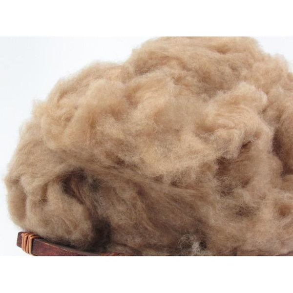 Dehaired Natural Camel Hair Natural Spinning Fiber
