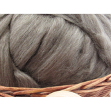 Dark Grey Icelandic Wool Top - 1oz