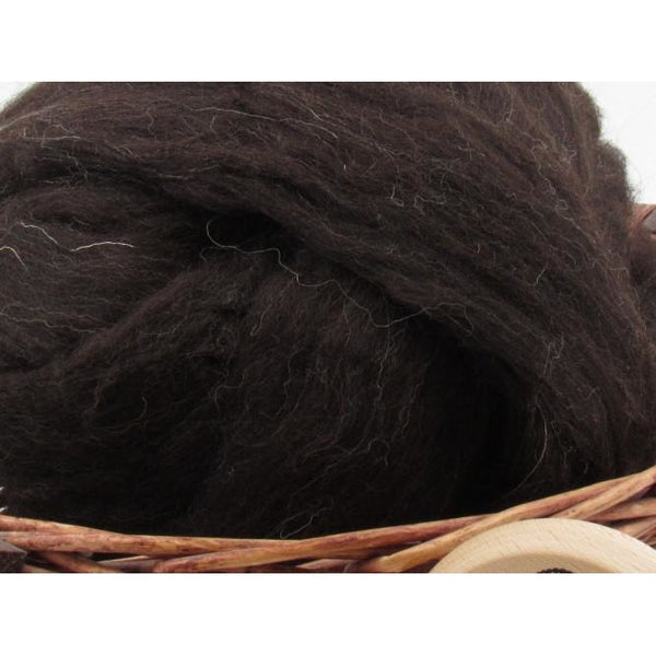 Black Jacob Wool Top - 1oz