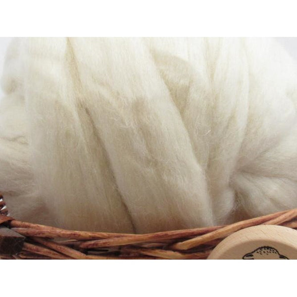 White Jacob Wool Top - 1oz