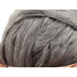 Light Grey Herdwick Wool Top - 1oz