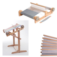 "Ashford 48"" Rigid Heddle Loom with Variable Stand and a 2nd Reed - FREE Shipping"