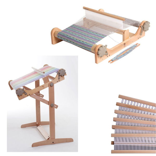 "Ashford 16"" Rigid Heddle Loom with Variable Stand and a 2nd Reed - FREE Shipping"