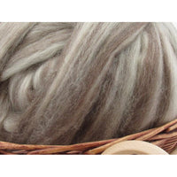 Mixed Bluefaced Leicester Wool Top - 1oz