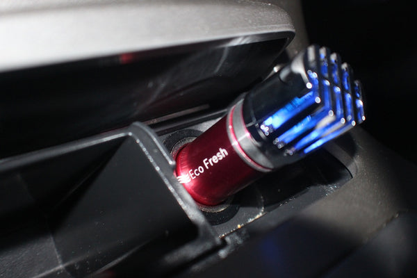 Premium In Car Air Purifier - Red