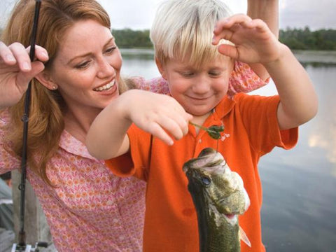 Mothers Love Fishing Too!