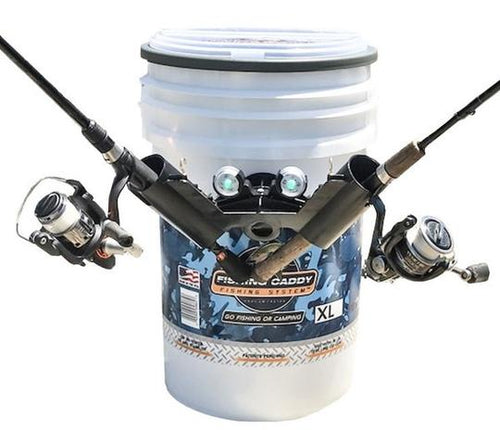 Fishing Caddy Blue Ice XL™️- Organizer lid