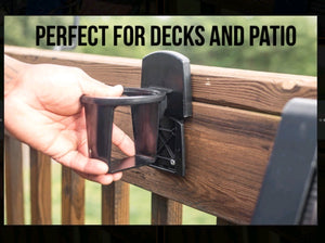 Deck and Patio Cupholder  2 Pack