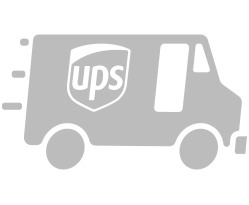 Fast UPS Shipping for Custom Sticker Printing Icon by Rockin Monkey Designs of San Antonio