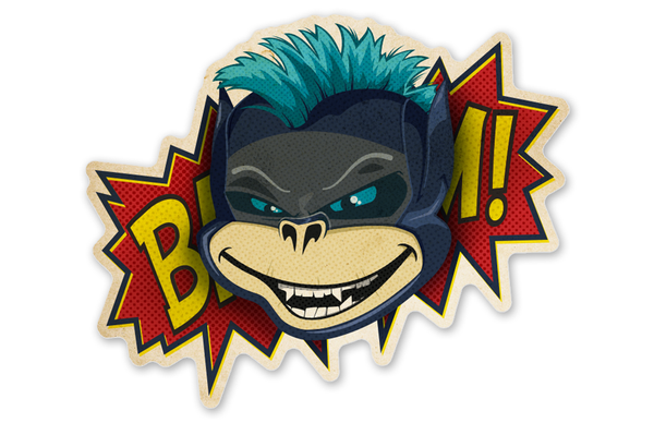 Adam West Batman Bixby™ Sticker