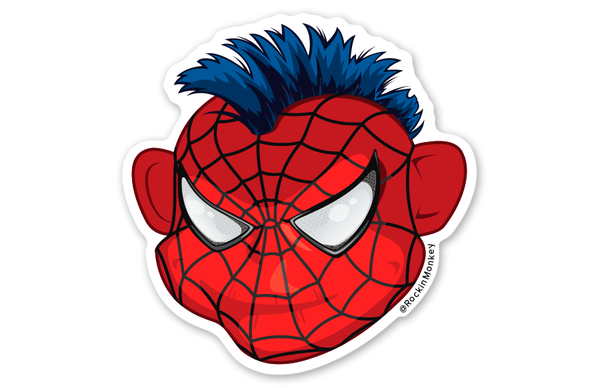 Spiderman Bixby™ Sticker
