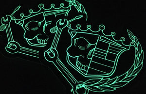 Glow in the Dark Stickers by Rockin Monkey of San Antonio
