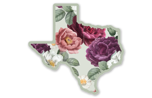 Spring Floral Texas Sticker