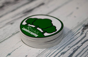 Round Stickers by Rockin Monkey Design & Print House of San Antonio