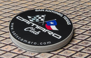 Custom Printed Round Stickers by Rockin Monkey of San Antonio