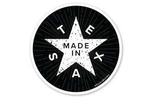 Worn Made in Texas Sticker