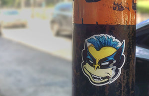 Wolverine Bixby™ Sticker by Rockin Monkey Design & Print House of San Antonio