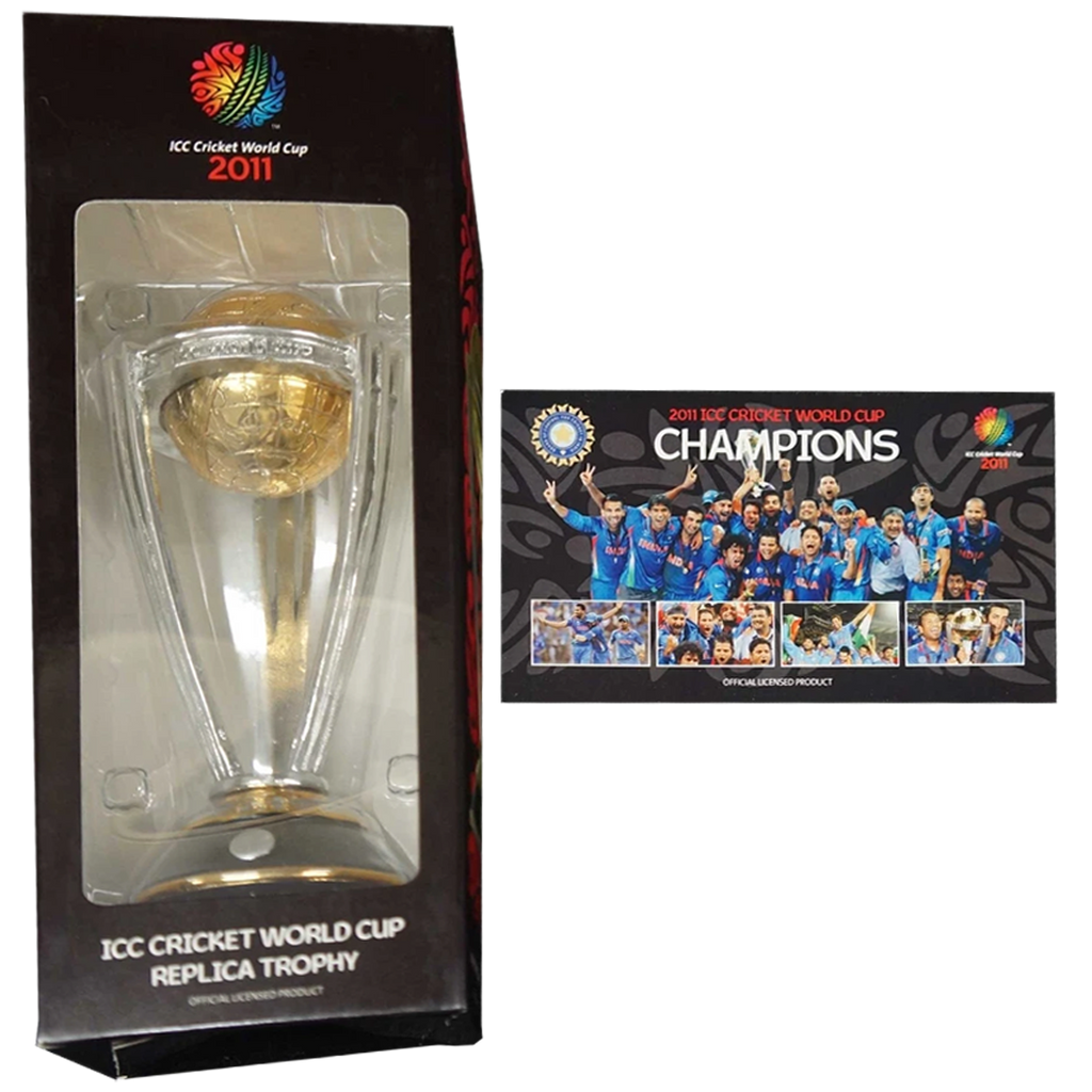 2011 Icc Cricket World Cup Trophy in Collectors Box India 2011 Champions - 2859
